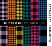 muted fall color lumberjack... | Shutterstock .eps vector #1183546213