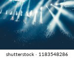 concert crowd and lights... | Shutterstock . vector #1183548286