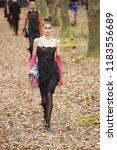 paris  france   march 06  kaia... | Shutterstock . vector #1183556689