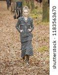 paris  france   march 06  a... | Shutterstock . vector #1183563670