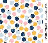 abstract seamless pattern... | Shutterstock .eps vector #1183588546