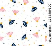 abstract seamless pattern... | Shutterstock .eps vector #1183589800
