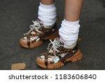 milan  italy   september 19 ... | Shutterstock . vector #1183606840