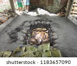 traditional uru   outdoor...   Shutterstock . vector #1183657090