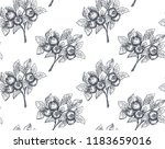 vector seamless pattern with... | Shutterstock .eps vector #1183659016