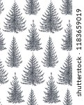 vector seamless pattern with... | Shutterstock .eps vector #1183659019