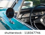 Close Up Of Classic Car