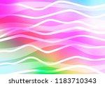 light multicolor  rainbow... | Shutterstock .eps vector #1183710343