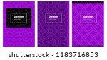 dark purple vector layout for...   Shutterstock .eps vector #1183716853
