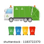 vector illustration of urban... | Shutterstock .eps vector #1183722370
