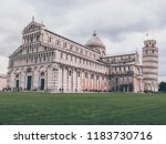 pisa  italy   october 2012 ... | Shutterstock . vector #1183730716