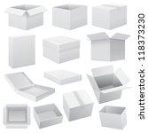 box set. vector web | Shutterstock .eps vector #118373230