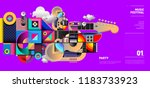 music festival illustration... | Shutterstock .eps vector #1183733923