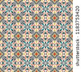 talavera pattern.  indian... | Shutterstock .eps vector #1183753420