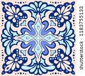 talavera pattern.  azulejos...   Shutterstock .eps vector #1183755133