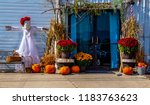 A Fall Harvest Display ...