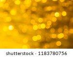golden yellow blurred bokeh... | Shutterstock . vector #1183780756