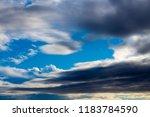 white  grey heavy fluffy ...   Shutterstock . vector #1183784590