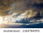 white  grey heavy fluffy ...   Shutterstock . vector #1183784593