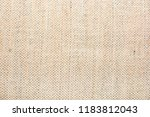 texture of natural linen fabric | Shutterstock . vector #1183812043