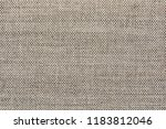 texture of natural linen fabric | Shutterstock . vector #1183812046