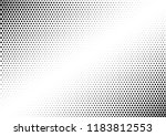 distressed dots background.... | Shutterstock .eps vector #1183812553