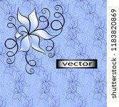 vector illustration of seamless ...   Shutterstock .eps vector #1183820869