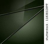 dark green metallic perforated... | Shutterstock .eps vector #1183832899