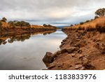early morning view of waterway... | Shutterstock . vector #1183833976
