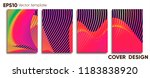creative colored cover. cover... | Shutterstock .eps vector #1183838920