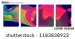 creative colored cover. cover... | Shutterstock .eps vector #1183838923