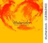 abstract watercolor elegant... | Shutterstock .eps vector #1183863403