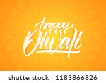 vector greeting card with... | Shutterstock .eps vector #1183866826