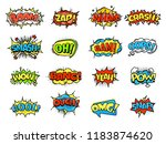 collection of bright  colorful  ... | Shutterstock . vector #1183874620