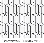 vector seamless pattern.... | Shutterstock .eps vector #1183877410