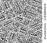 geometric seamless pattern... | Shutterstock .eps vector #1183884616