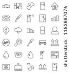 thin line vector icon set  ...   Shutterstock .eps vector #1183887076