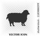 sheep icon vector illustration | Shutterstock .eps vector #1183888399