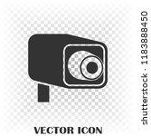 camcorder icon vector icon....