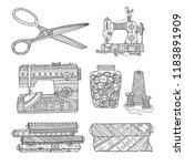 vector illustration of... | Shutterstock .eps vector #1183891909