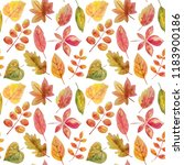 watercolor seamless pattern... | Shutterstock . vector #1183900186