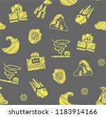 images of various natural...   Shutterstock .eps vector #1183914166