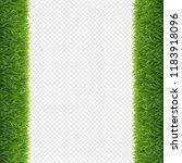 grass borders transparent... | Shutterstock .eps vector #1183918096