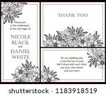 vintage delicate greeting... | Shutterstock . vector #1183918519