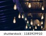 interior. decorative lamps | Shutterstock . vector #1183929910