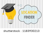 text sign showing location... | Shutterstock . vector #1183930213
