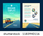 vector brochure template with... | Shutterstock .eps vector #1183940116