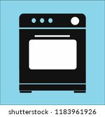 stove vector icon | Shutterstock .eps vector #1183961926