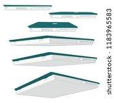 view to bottom detailed artwork ... | Shutterstock .eps vector #1183965583
