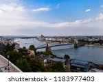 budapsest cityscape panorama | Shutterstock . vector #1183977403
